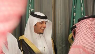 بالفيديو والصور … سلطان بن شبيب الخالدي يحتفل بزواج نجله «شبيب»
