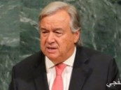 الأمين العام للأمم المتحدة: ندعو إلى حل سياسى للصراع الفلسطينى الإسرائيلى