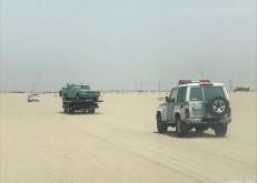 مرور الخفجي يداهم مواقع سيارات مطلوبه ويضبط مركبتين