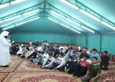 نادي الحي بالحسن البصري يقيم برنامجاً ترفيهيا بمناسبة اليوم العالمي للسعادة