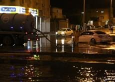 أبعاد الخفجي ترصد جهود الجهات الحكومية والامنية في مواجهة الأمطار