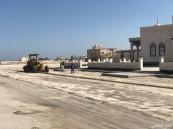 تأكيداً لماورد في إثنينية أبعاد : بلدية الخفجي «تبدأ أولى مراحل سفلتة حي الشاطئ»
