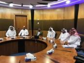 وفد جامعة حفر الباطن يزور شركة أرامكو لأعمال الخليج ويتفقد الكلية الجامعية