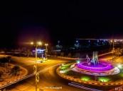 دوار الكورنيش – بعدسة عبدالعزيز العنزي