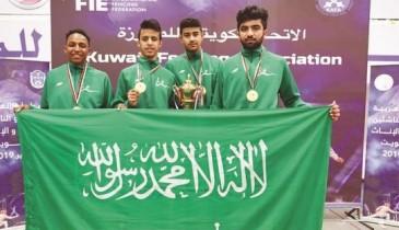 «أخضر المبارزة» ينهي العربية بـ18 ميدالية