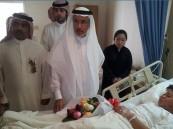 مسؤولو صحة الشرقية يزورون مصابي حادث الجبيل