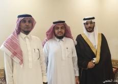 سعد خالد القرشي يعقد قرآنه