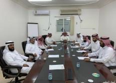مجلس إدارة جمعية البر الخيرية بالخفجي يعقد اجتماعة الخامس