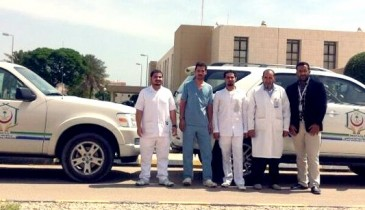 برنامج الطب المنزلي بالخفجي خدمة إنسانية ورعاية طبية تطلب الدعم والتطوير