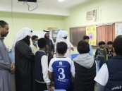 الحديبية تنفذ برنامج رياضي وتروبي وتعليمي في زيارة ابتدائية المستقبل