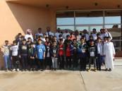 ابتدائية المستقبل الأهلية تزور جمارك الخفجي ومدينة العلوم والتقنية