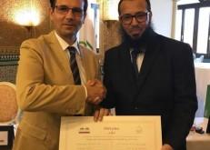 المري يحصل على شهادة الزمالة الأوروبية العربية في اسبانيا
