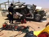 بالصور: مصرع وافد «أجنبي» وإصابة أخر في حادث بالقرب من السفانية