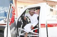 الشمري «بطل الراليات» يكمل إستعداده من الخفجي لخوض غمار باهي الكويت