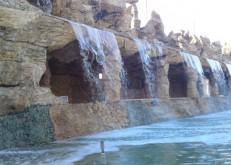بالصور.. مؤسسة الإنشاءات الخليجية تنفيذ (الفلل، الحدائق، الشلالات، المسابح)