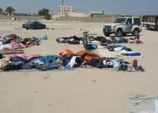 بلدية الخفجي تداهم بائعين جائلين أجانب أمام الجوامع