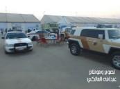 بالفيديو.. الجهات الحكومية حاضرة في «كلنا الخفجي» بين توعوية وأمنية