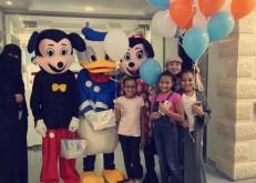 مستشفى الخفجي الأهلي يحتفل مع مراجعية وموظفية بعيد الفطر المبارك