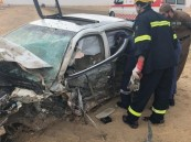 وفاة شخص في حادث مروري متعدد على طريق الخفجي