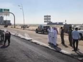 الهزاع يتابع جهود بلدية الخفجي في سحب مياه الأمطار