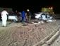 بالصور: وفاة شخص وإصابة أخر في حادث مأساوي على طريق «القاعدة»