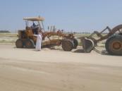 البدء بأعمال الصيانة و التطوير في ميدان فروسية الخفجي