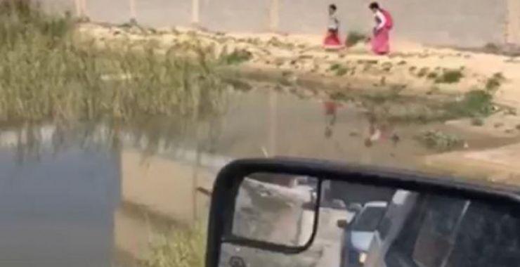 المستنقعات المائية في أحياء الخفجي خطر يهدد الأهالي والأطفال