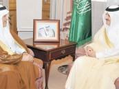 أمير الشرقية ونائبه يستقبلان مدير جامعة الملك فيصل