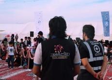 30 شاباً وشابةً ينجحون في تنفيذ حفل افتتاح مخيم الربيع بالخفجي