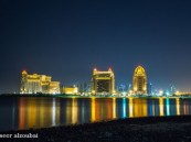 شاطئ اللؤلؤة في قطر بعدسة ناصر الزعبي