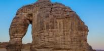 جبل الفيل في مدينة العُلا – عدسة : علي الشمري
