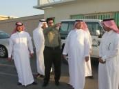 الهزاع يتفقد منفذ الخفجي و تزامن الاجازة الاسبوعية السعودية والكويتية تضاعف الكثافة
