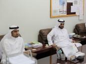 طلاب ثانوية الخفجي في زيارة تعريفية إلى مدينة الملك عبدالعزيز للعلوم والتقنية