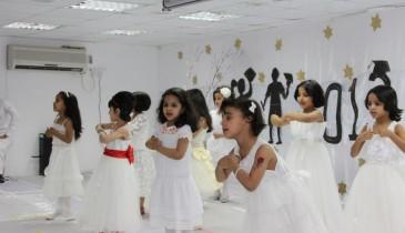 تغطية حفل تخريج اطفال روضة براعم الخفجي