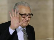 الابراهيمي يقول إن مؤتمر سوريا قد يعقد في يوليو