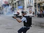 الشرطة التركية تطلق الغاز المسيل للدموع على محتجين في اسطنبول
