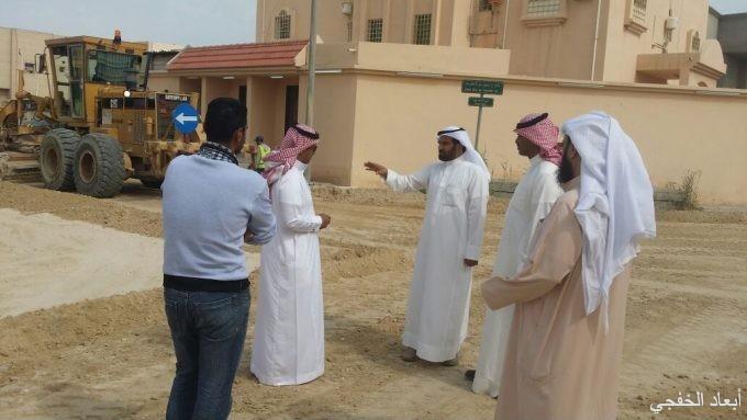 «بلدي الخفجي» يتابع ميدانياً مشروع صيانة وسفلتة الشوارع