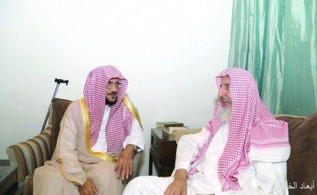 مفتي عام المملكة يستقبل وزير الشـؤون الإسلامية