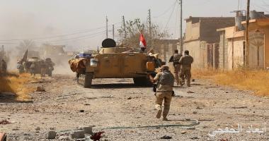 الأمن العراقى يدمر 4 أوكار لتنظيم داعش الإرهابى بكركوك