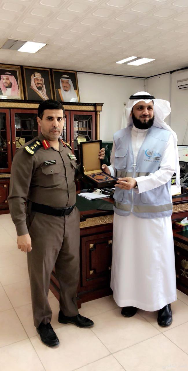 الحميداني يكرم فريق الخفجي التطوعي المشارك في حملة «رمضان أمان»