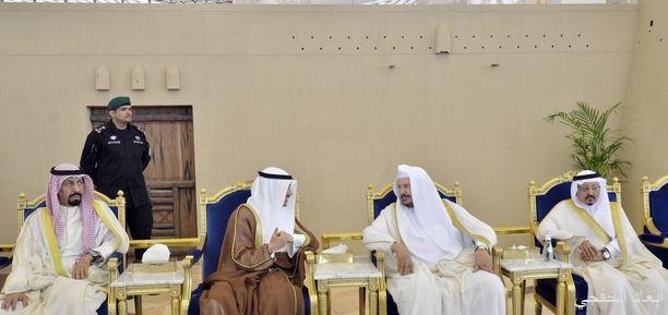 رئيس مجلس الأمة الكويتي يصل الرياض