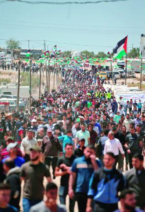 غزة تستذكر النكبة بـ«مليونية الأرض والعودة»