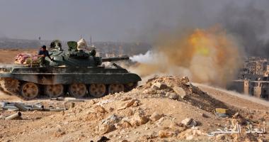 الجيش السورى يجلى مقاتلين من جيب صغير قرب دمشق
