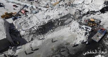 ارتفاع حصيلة قتلى انفجار مستودع الأسلحة بإدلب إلى 39 شخصا