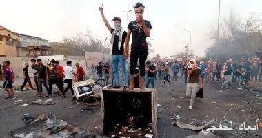 """""""ائتلاف النصر العراقى"""" يتهم الميليشيات بحرق مقراتها لنشر الفوضى بالبصرة"""