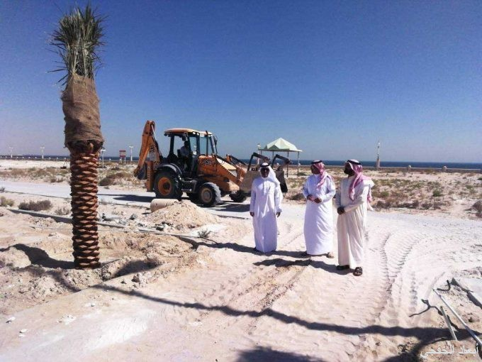 «بلدي الخفجي» يتابع ميدانياً مشروع صيانة وسفلتة الشوارع والاحياء