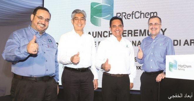 """"""" أرامكو"""" و""""بتروناس"""" تطلقان الهوية المؤسسية لمصانعهما ومشاريع البتروكيميائيات المشتركة في ماليزيا"""