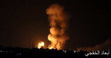 الاحتلال الإسرائيلى يقصف نقطة رصد للمقاومة الفلسطينية شرقى قطاع غزة