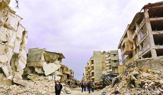 غارات سورية – روسية على إدلب