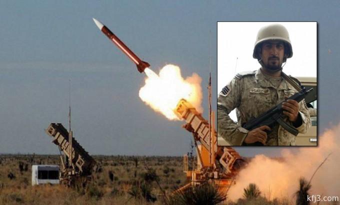 ولي ولي العهد يكرم «الخمسان» أبن الخفجي بعد تصديه لصاروخ سكود حوثي